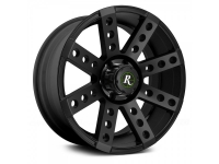 Диск литой Buckshot на atv/utv 12x7 (4/110; 5+2; Satin Black)